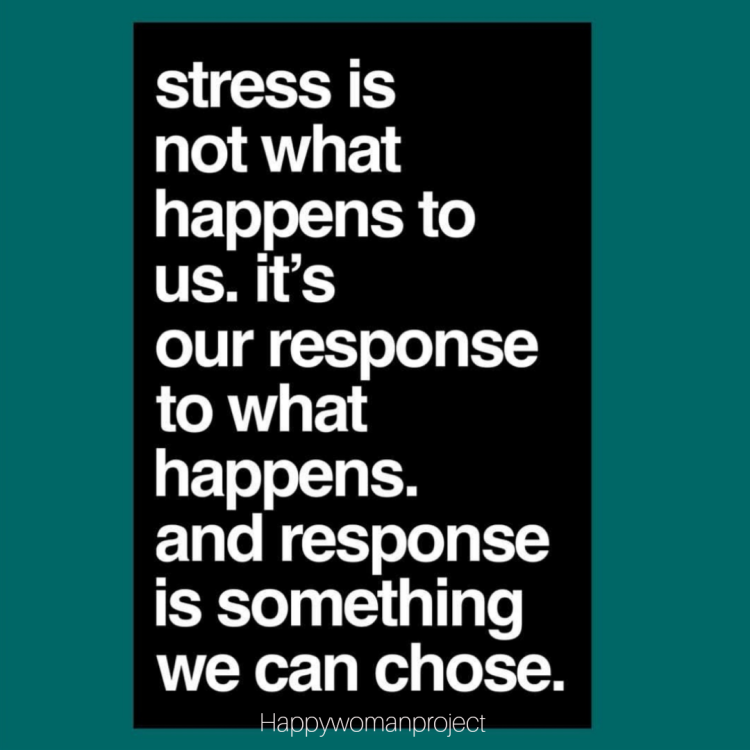 Stress is not what happens